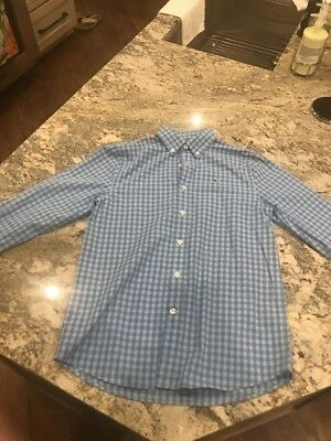 Boys Vineyard Vines Long Sleve Shirt Size Youth Medium