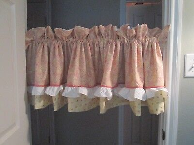 Yellow, Pink, Coral, Green, Paisley/Floral Cribskirt, Crib Sheet and Valances