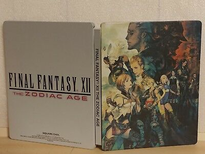 Final Fantasy XII: The Zodiac Age -- SteelBook Edition [PAL VERSION]