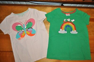 Little girl's Mini Boden and Hanna Andersson tops size 9-10y (fits like 5-6)