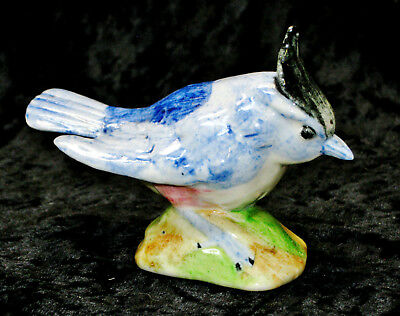 Vintage Stangl Pottery Birds Titmouse # 3592 Hand Painted & Signed RCF