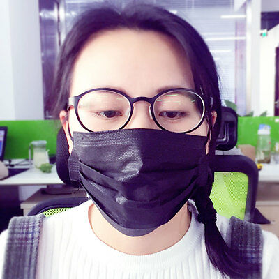 20pcs 3- layer Disposable Anti-Dust Non-woven Filter Dustproof  Mouth Face Mask