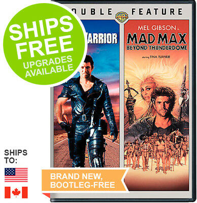 Road Warrior / Mad Max Beyond Thunderdome (DVD, 2007) NEW, Mel Gibson