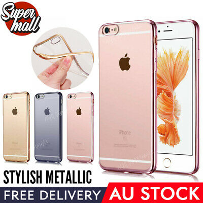 iPhone 7 / 8 /7 Plus / 8 Plus Case cover gel soft slim ultra silicone Thin Cover