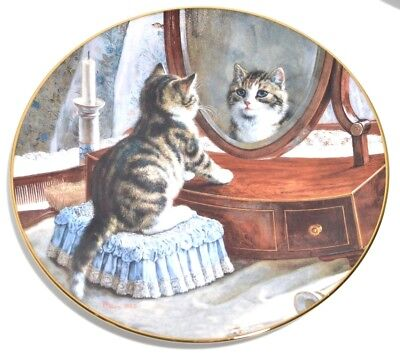 Victorian Cat Capers Collectors Plate Kitten W. S. George Numbered First Issue