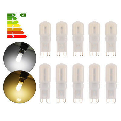 10x G9 2835 SMD Dimmable 5W/8W Capsule Bombilla 14 22 LED Bulbo Halogen Lámpara