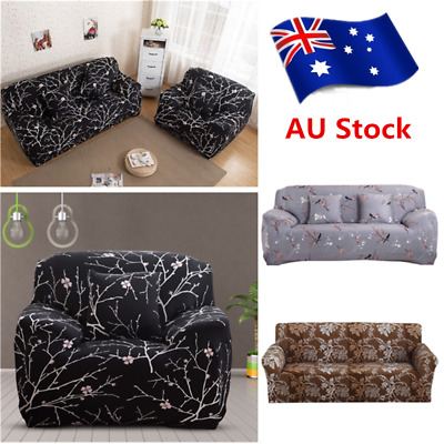 EASY Stretch Couch Sofa Lounge Covers Slipcover 2 3 Seater Dining Chair Cover