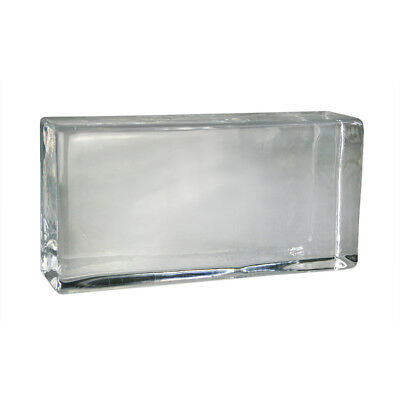 Crystal Collection glass brick brilliant 20x10x5 cm