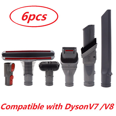 6pcs Attachments Tools Kit For Dyson V8 Absolute Animal V7 Absolute Cord Vacuum
