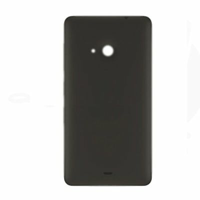 Black New For Microsoft NOKIA Lumia 535 Housing Battery Back Cover Shell Case