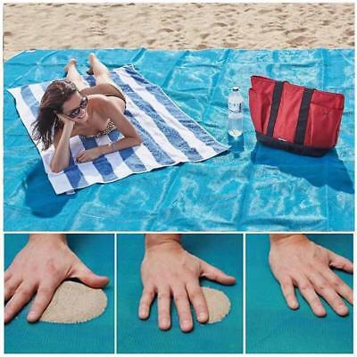200*200cm Sand Proof Beach Mat Decken Inletts Outdoor Camping Picknick Teppich