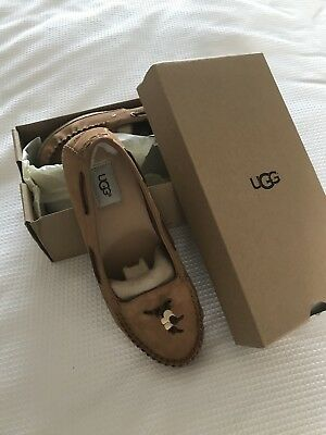 Ugg Suzette Mocassin Loafer Style Shoes New Size 8