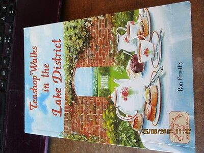 used paperback  book,teashop walks in the lake district,2006 issue
