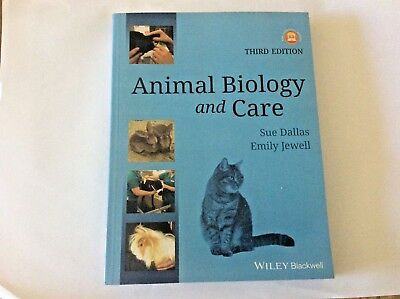Animal biology and care (Third Edition)