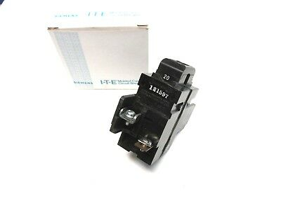 20A  breaker .. * ITE Pushmatic Bulldog P220 2P .. chip ZF-31B
