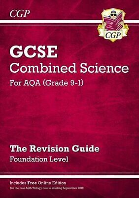 New Grade 9-1 GCSE Combined Science: AQA Revision Guide with Onl... by CGP Books