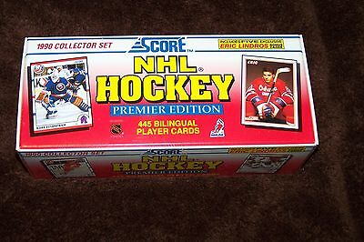 1990 Score Factory Sealed Nhl Hockey Premier Edition 445 Card Collector Set