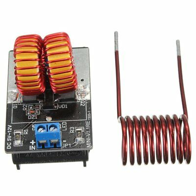 5V-12V Low Voltage ZVS Induction Heating Power Supply Module + Heater Coil RM