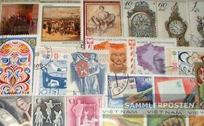 all World 750 different stamps