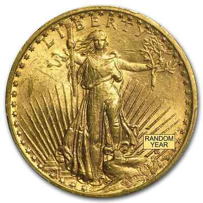 SPECIAL PRICE! $20 Saint-Gaudens Gold Double Eagle BU (Random Year)