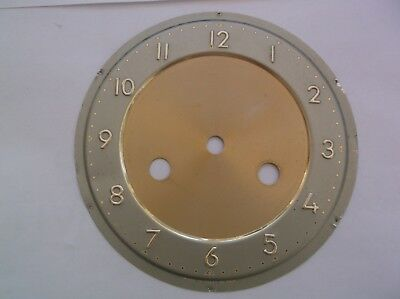 FACE  FROM AN OLD  MANTLE CLOCK  OUTER 5 7/8 inch diam