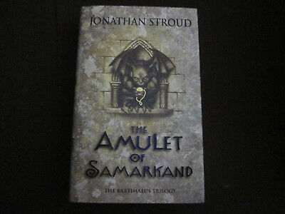 Jonathan Stroud signed Collector's Edition The Amulet of Samarkand with Slipcase