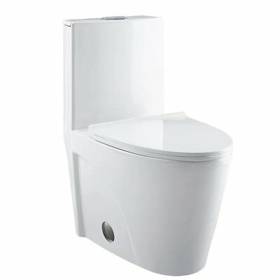 KEVSAL INC NEVELLE 1.6 GPF Elongated One-Piece Toilet - $329.99 ...