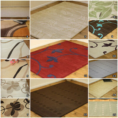 New Modern Best Quality Thick 100% Pure Indian Wool Rugs Clearance Wool Rug Sale