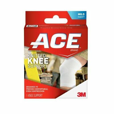 ACE KNITTED KNEE SUPPORT - Small - Mild Support - 3M Quality Product