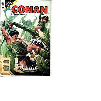 Conan  Le  Barbare  :n°19      Editions   Semic France