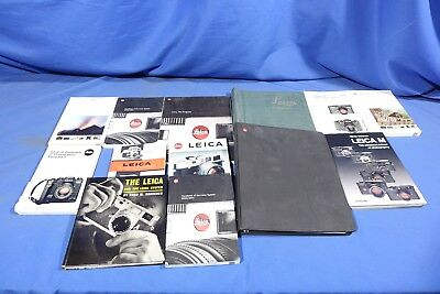 LOT of Assorted Leica Literature L4288BP AS-IS