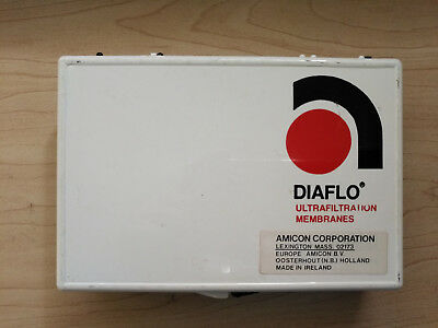 One box of 10 New Amicon Diaflo Ultrafiltration Membranes for Stirred Cell, YM10