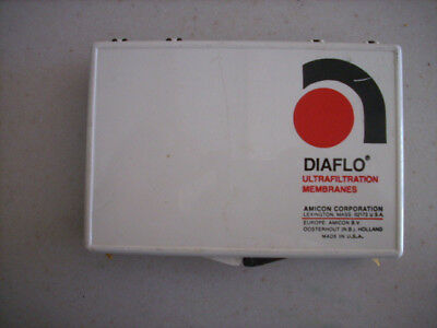 One box of 3 New Amicon Diaflo Ultrafiltration Membranes for Stirred Cell, YM30