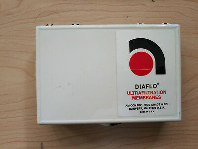 One box of 10 New Amicon Diaflo Ultrafiltration Membranes for Stirred Cell, YM5