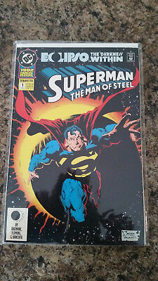 SUPERMAN - The Man Of Steel - #1 - ANNUAL 1992