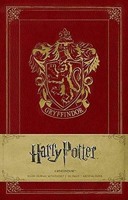 Harry Potter, Gryffindor, Hardcover Ruled Journal, 192 Pages, Archival paper