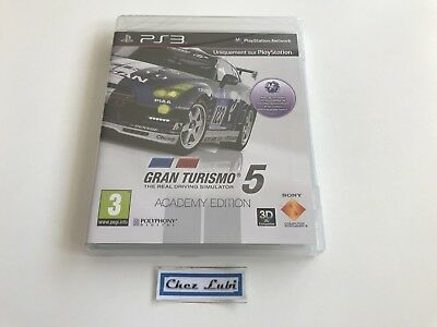 Gran Turismo 5 - Academy Edition - Sony PlayStation PS3 - PAL FR - Neuf Blister