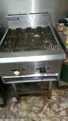 charcoal flame grill two burner NAT GAS peri peri grill commercial grill