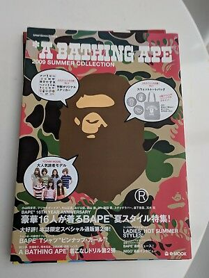 Authentic A Bathing Ape E-MOOK BOOK summer 2009  COLLECTION NEW Mook Bape