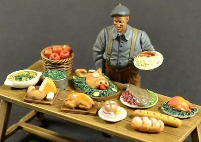 Reality In Scale 1:35 Prepared Food Set 1 - Resin Diorama Accessory #35260