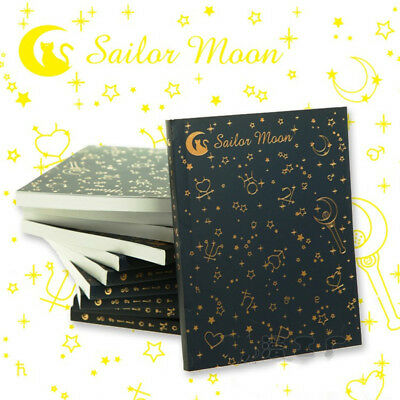 Sailor Moon Tsukino Usagi Crystal 20th Bronzing Notebook Memo Diary Journal 1PC