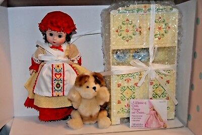 8 Inch Vinyl Doll As Old Mother Hubbard With Her Cupboard  Madame Alexander