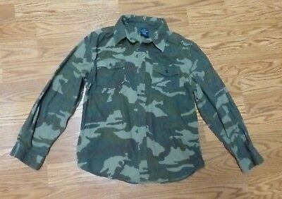 4dba441d Faded Glory Boys' Long Sleeve Flannel Camo Button-up Shirts XL/XG 14