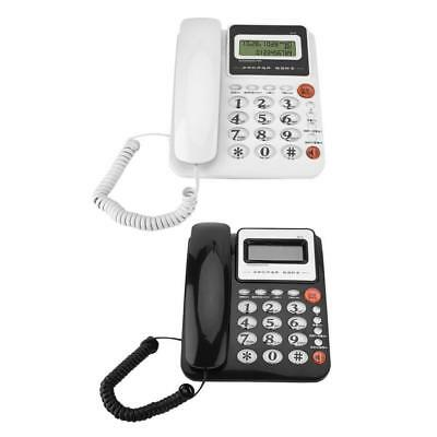 Large Screen Caller ID Display Landline Battery-free Home Office Fixed Telephone