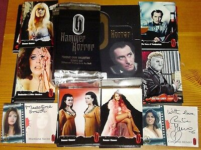 Hammer Horror Series 1 Mint Sealed & Numbered Box with Extra Chase Foil Pack