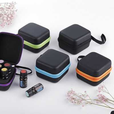 7Bottle Essential Oil Carry Case 5ML Holder Storage Aromatherapy Hand Bag Travel