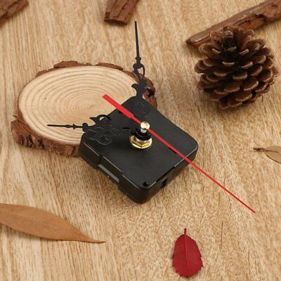 Small Mute Hands Quartz Clock Movement Mechanism Repair Tool Parts Kit DIY Set