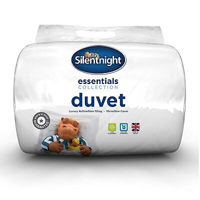 Silentnight Hollowfibre Duvet / Quilt - 15 Tog - Single Double King or SK