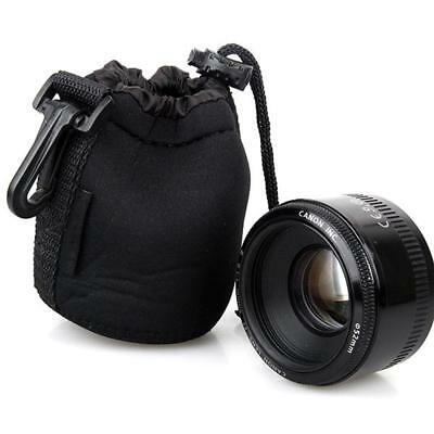 Neoprene waterproof Soft Camera Lens Pouch bag Case Size- S M L XL ss