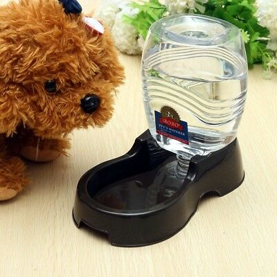 √950ml Automatic Pet Dog Cat Water Feeder Self Feeding Mug Bowl Bottle Dispenser